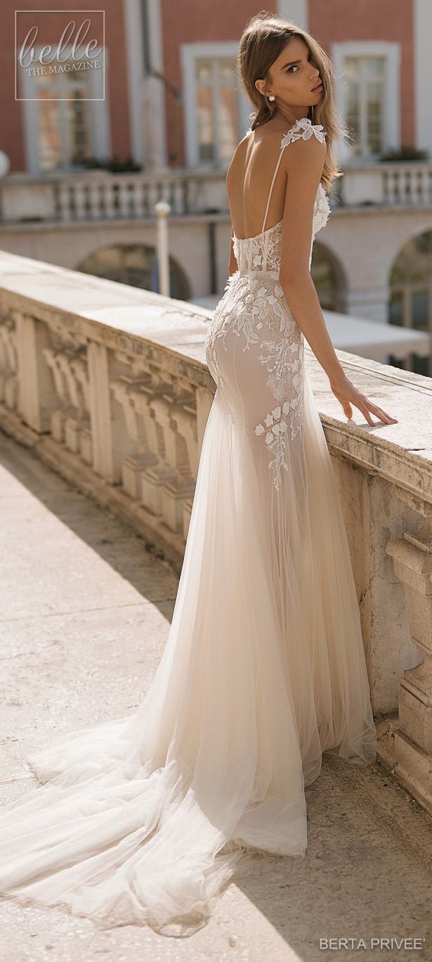 Berta priveÉ wedding dress collection mermaid sheath and