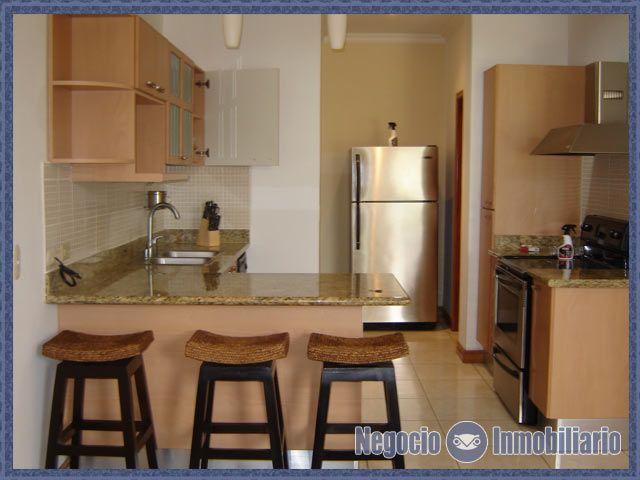 Exquisito apartamento en alquiler en Escazu. 2 dormitorios, 2 baños ...
