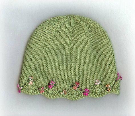 One Day Baby Hat By Lv2knit Via Flickr Free On Ravelery Knitting