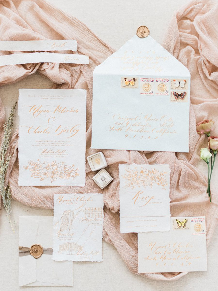Dream Of A Blush White Wedding This One Is For You Wedding