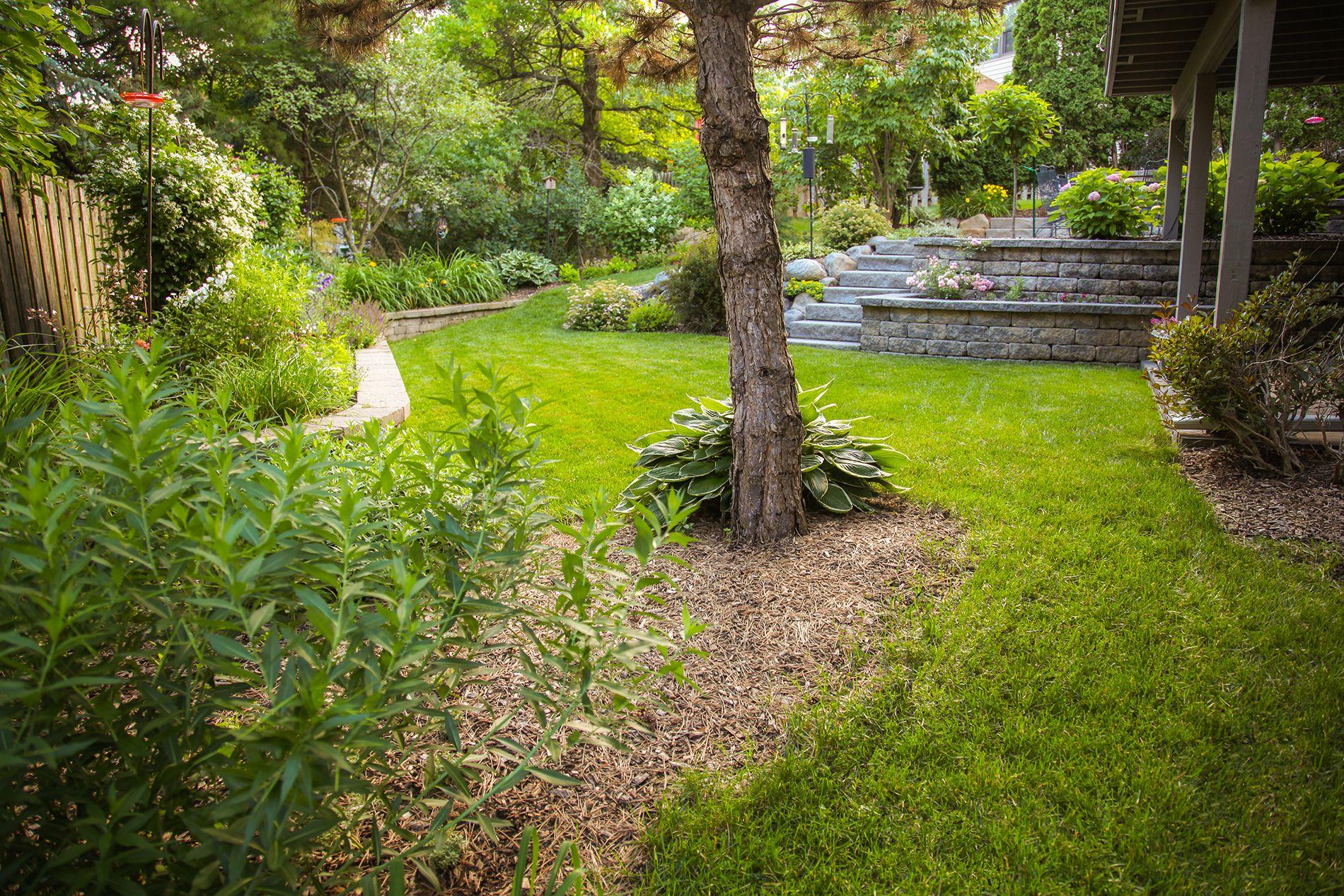 Landscape design & plants provided by McKay Nursery ...