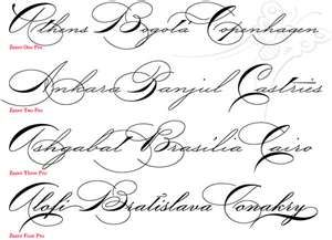 Tattoo Cursive Fonts 3 Free Blog