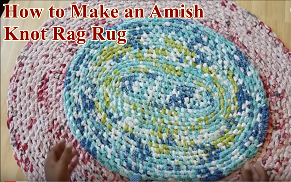 An Amish Knot Rag Rug Craft Project