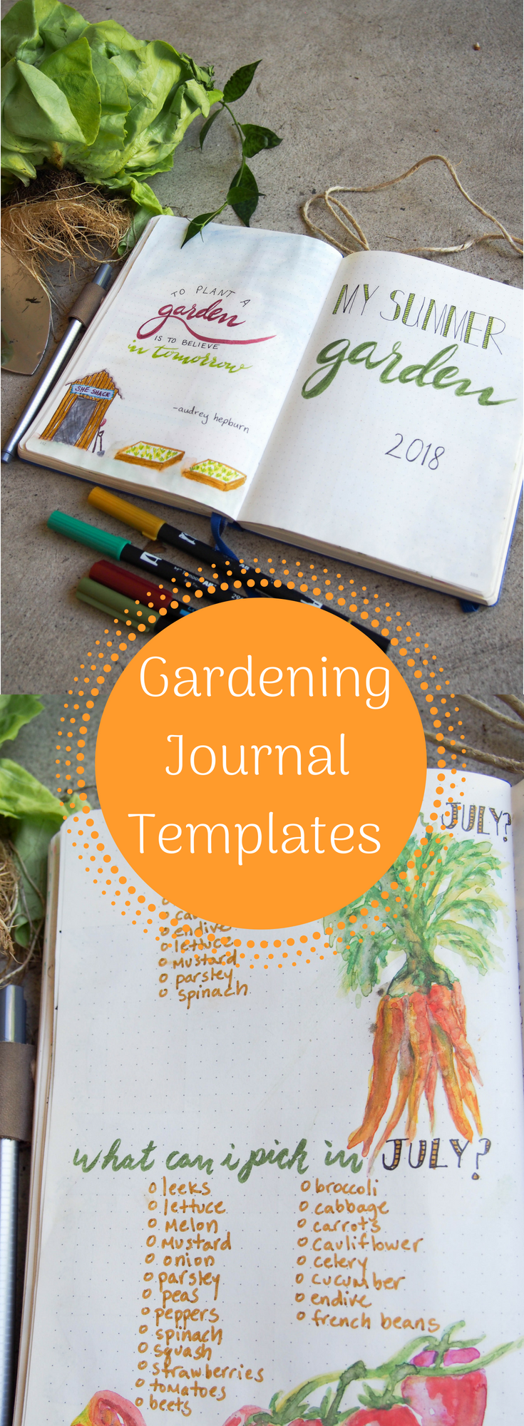 Spruce Up Your Gardening Journal With Our Free Bullet Journal Templates It S So Easy Just In 2020 Garden Journal Garden Journal Template Gardening Journal Printables