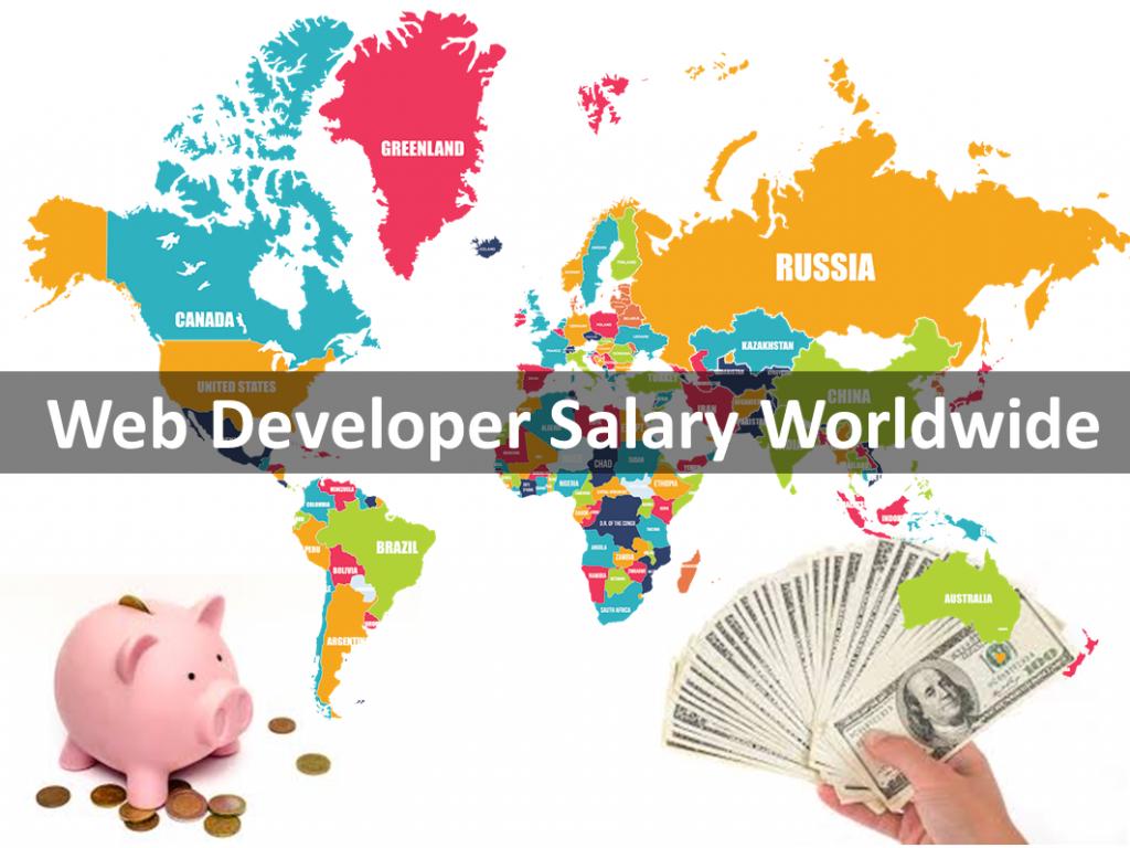 Worldwide Web Developer Salaries Web development