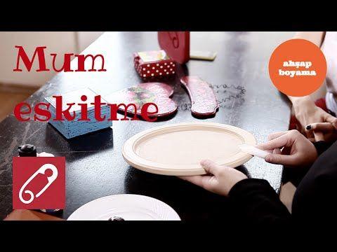 Video Ahşap Boyama Mum Eskitme Nasıl Yapılır 10marifetorg