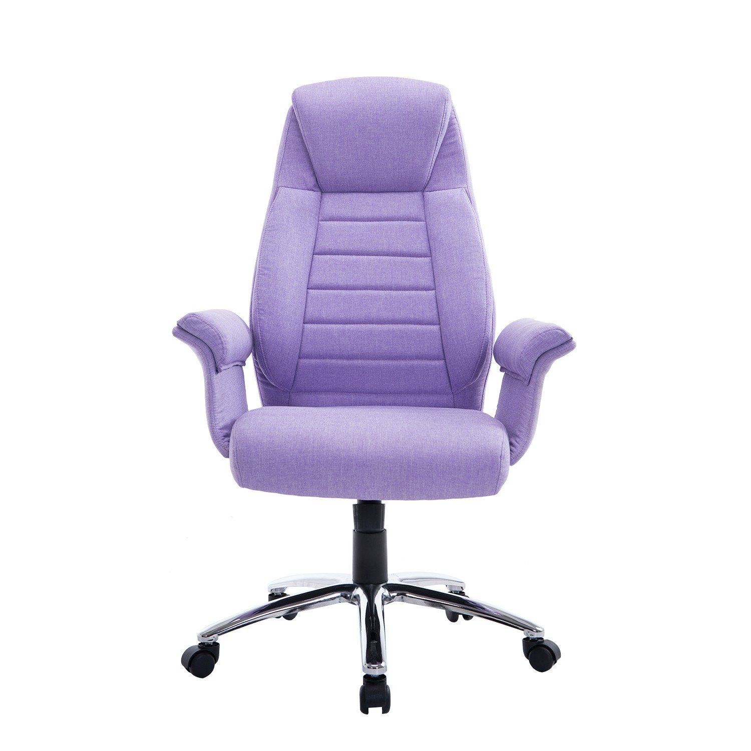 Rolling Purple Office Chair Aosom.ca (With images