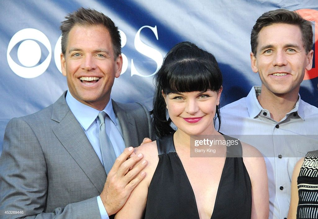 Actors Michael Weatherly Pauley Perrette And Brian Dietzen Arrive At Michael Weatherly Pauley Perrette Weatherly