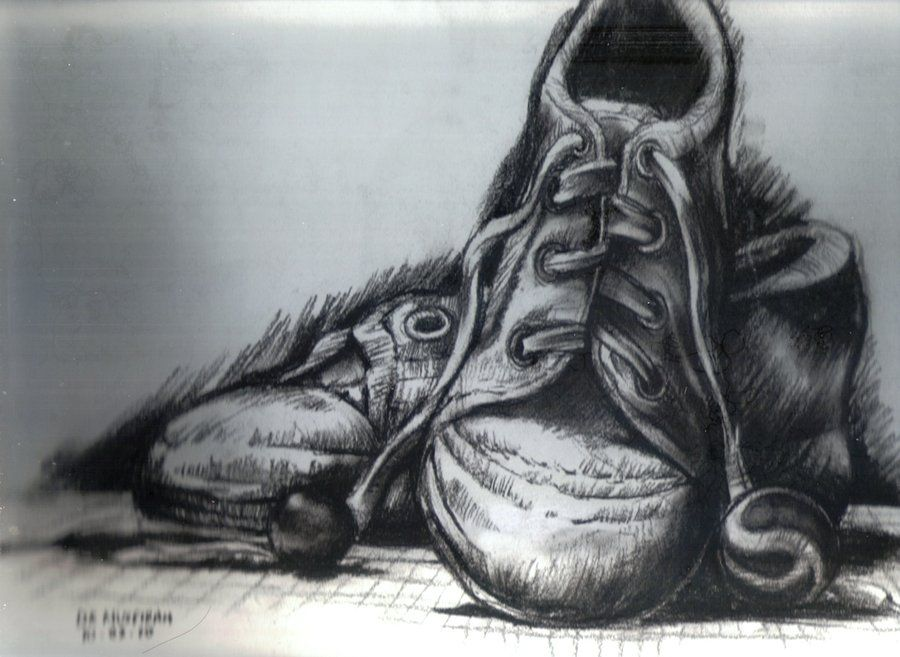 cool nike shoes designs sketch artist drawing charcoal 923127