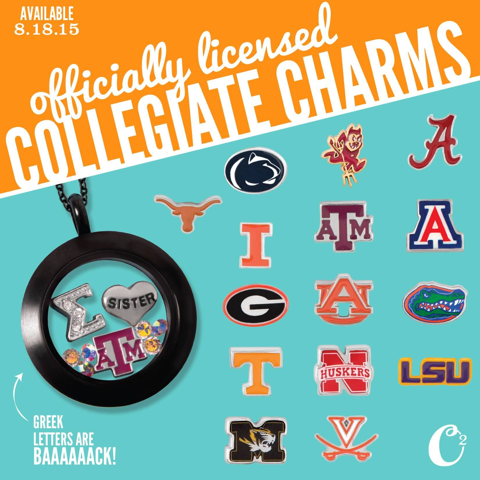 Officially licensed collegiate charms for your origamiowl officially licensed collegiate charms for your origamiowl lockets coming 818 jeuxipadfo Gallery