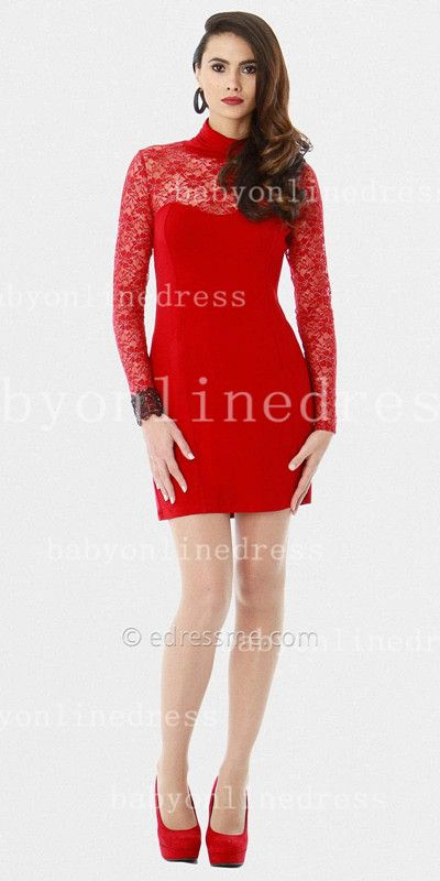 hitapr.com red-dresses-with-sleeves-09 #reddresses | Dresses ...