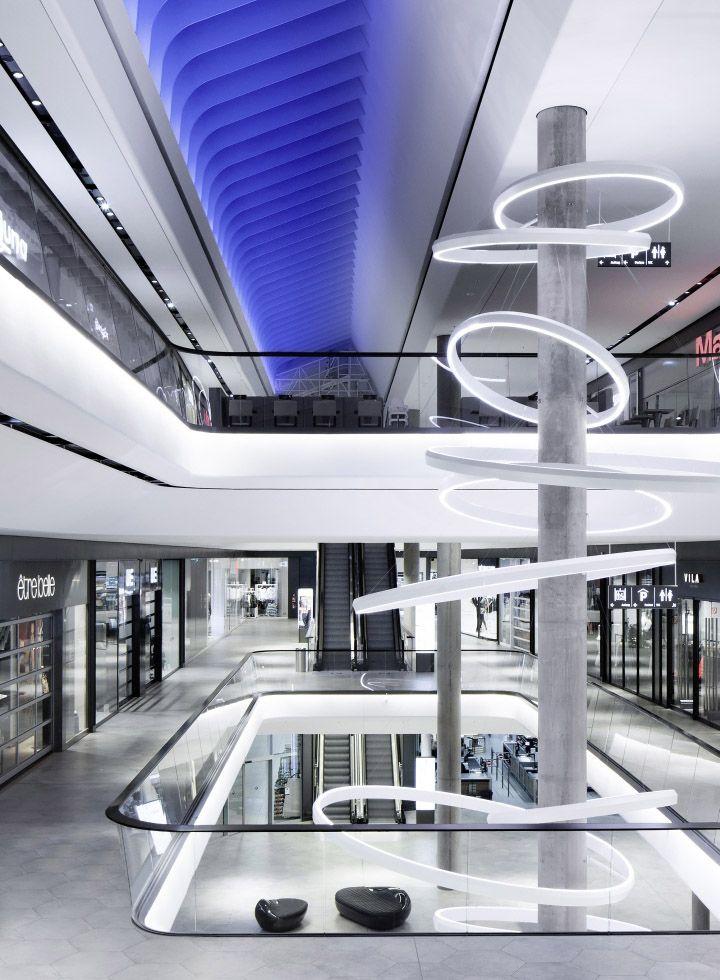 Innenarchitekturbüro Stuttgart das gerber shopping mall by ippolito fleitz stuttgart
