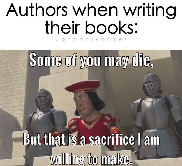 I cannot begin to describe how freaking accurate this is... But not just books! Music, plays, fanfic, short stories, comics, poetry...