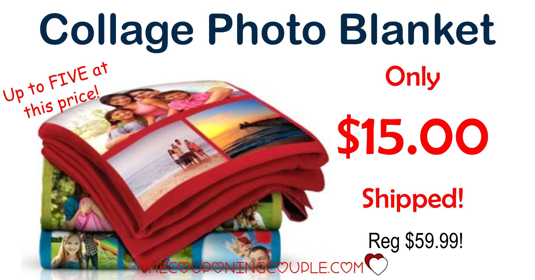 Collage Photo Blanket Only 15 Shipped Walgreens Photo