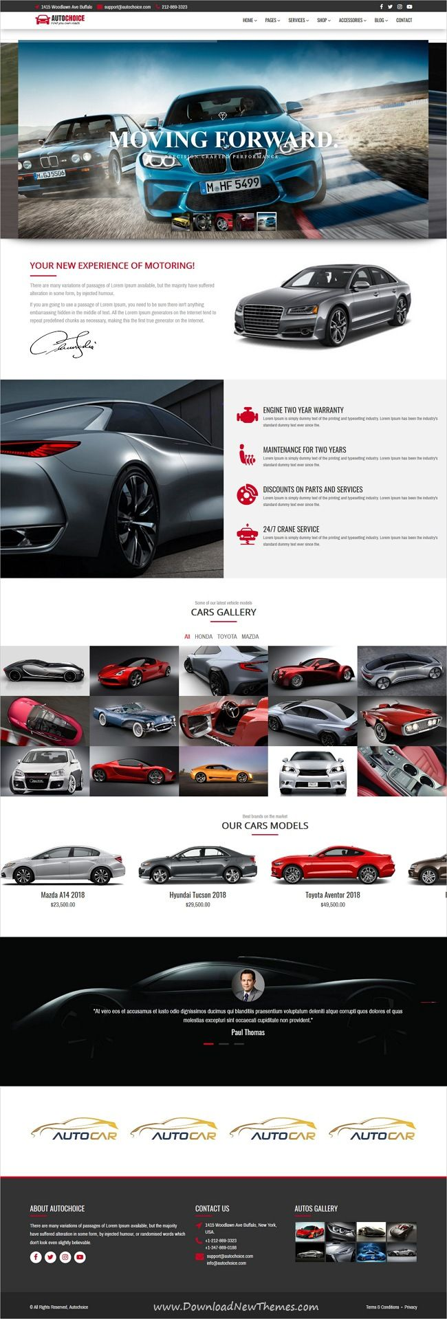 Autochoice Is Clean And Modern Design 8in1 Responsive Bootstrap Html5 Template For Premium Cars Automotive Dealership Business Website