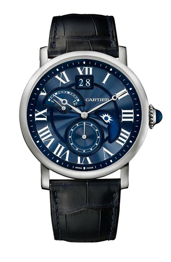 Cartier - Rotonde Second Timezone Day/Night