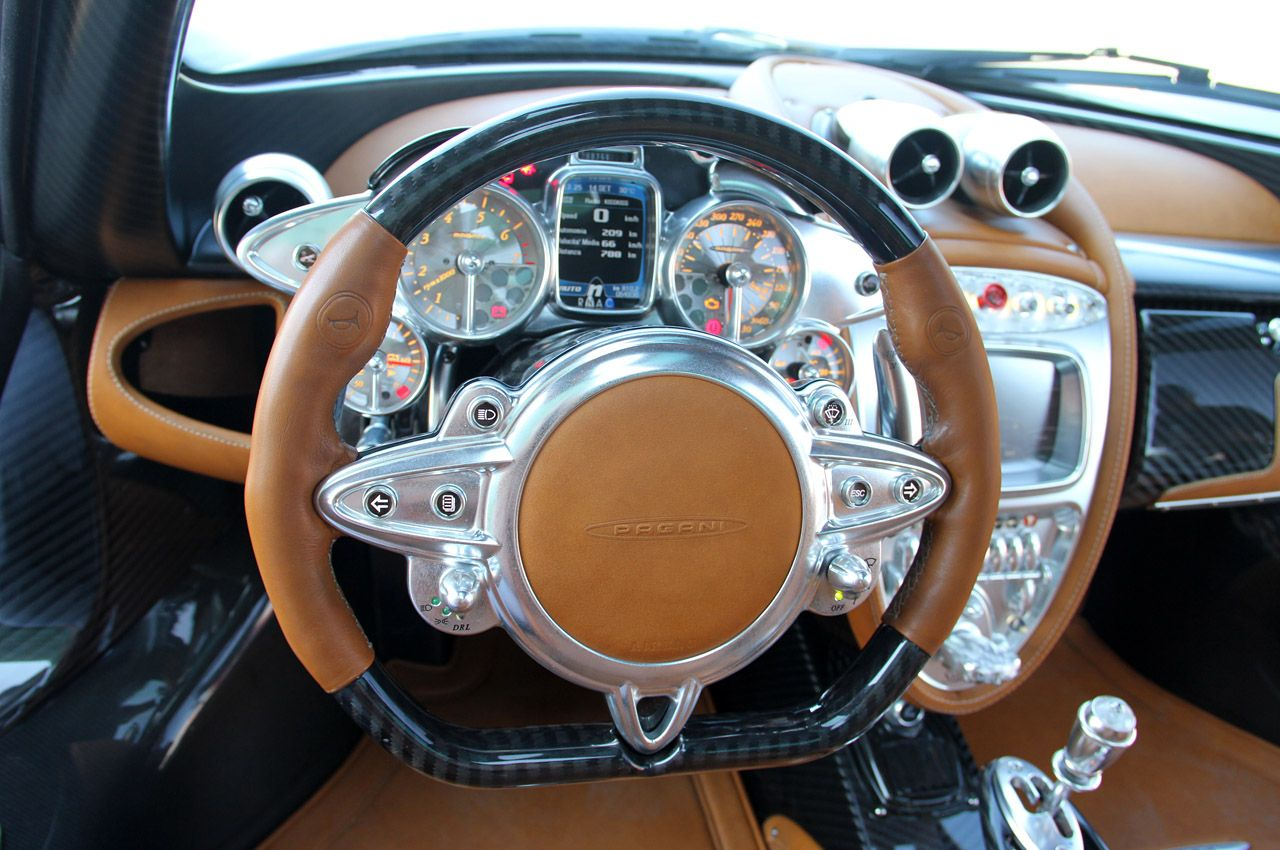 2013 Pagani Huayra interior | Cool Cars | Pinterest