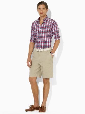 864e6937d6 whole look is classic. Prospect Classic Chino Short - Polo Ralph ...