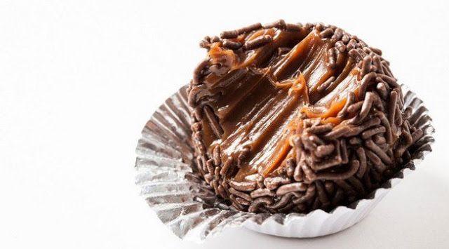 Receitas, Sabores & Cia: Brigadeiro de Nutella