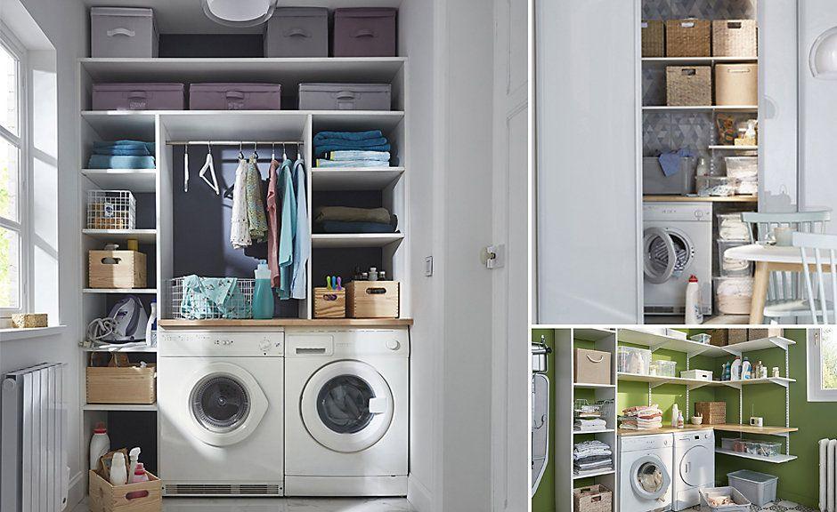 5 Caracteristiques De Rangement A La Maison Sur La Liste De Souhaits De Tous Les Acheteurs De Maison Home Appliances Stacked Washer Dryer Home