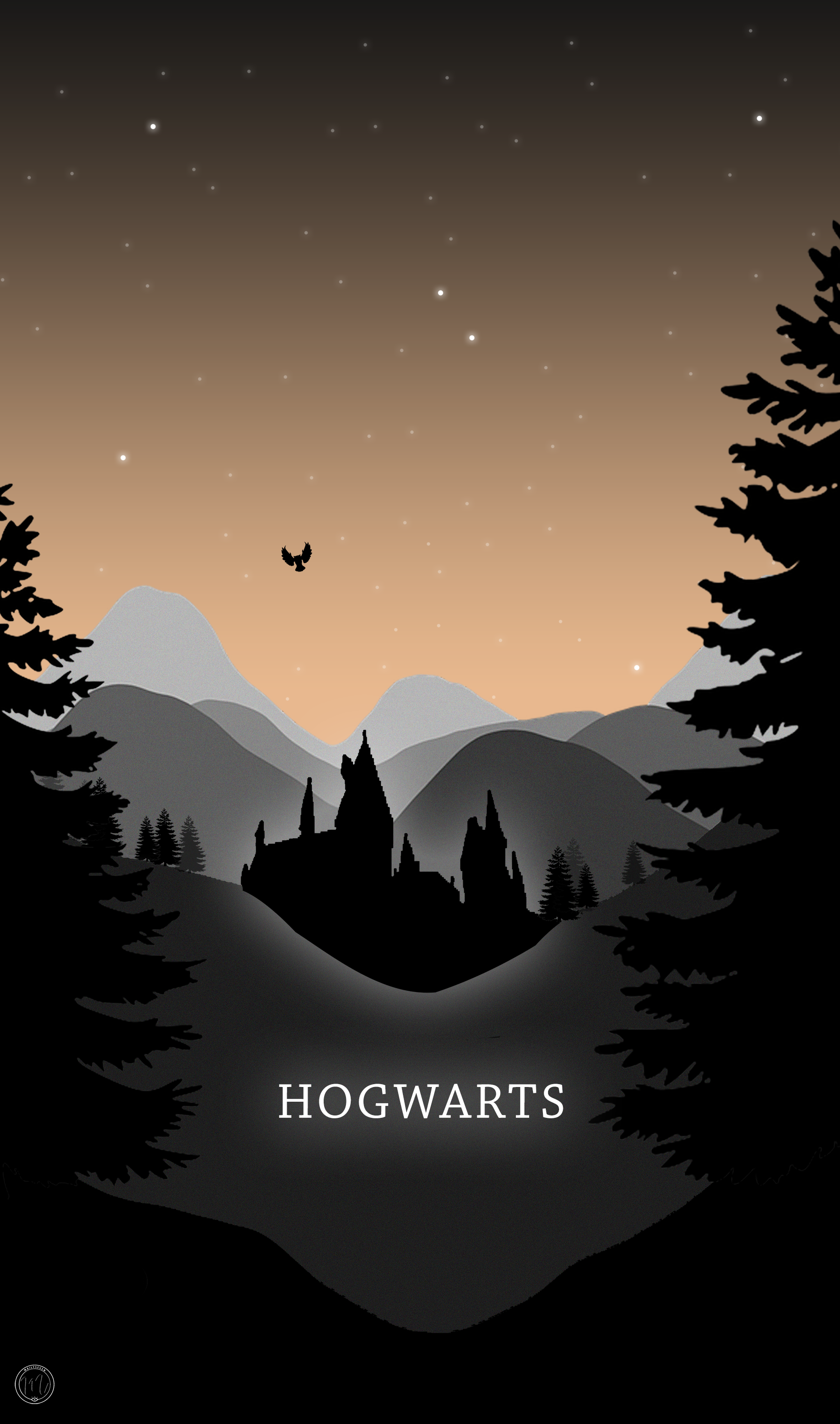 Hogwarts Phone Wallpaper Harry Potter Inspired Il Ration Mailyseven July 2018