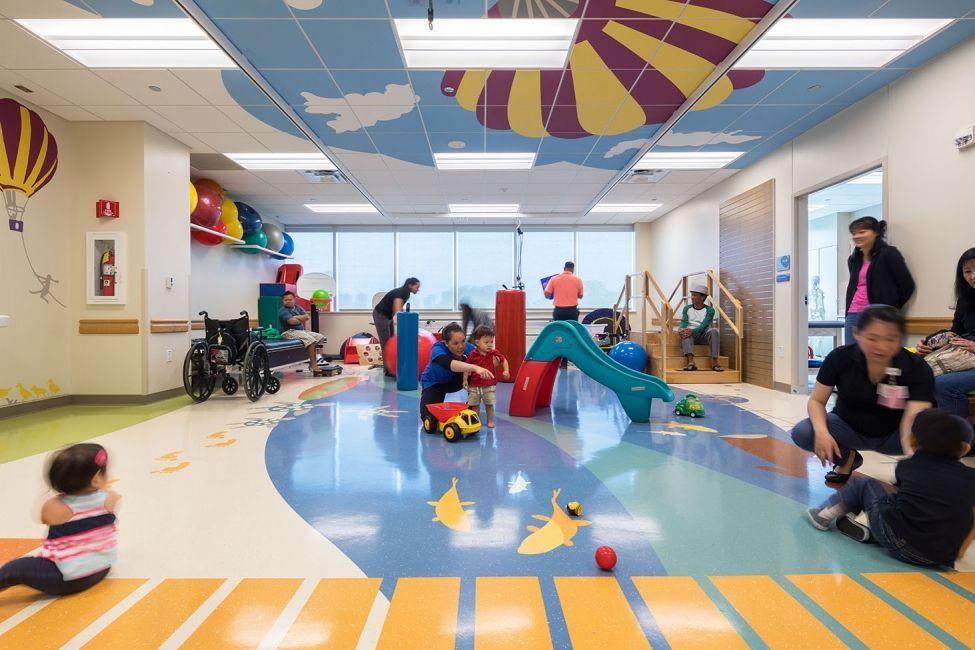 Kapiolani medical center for women children trehab gym