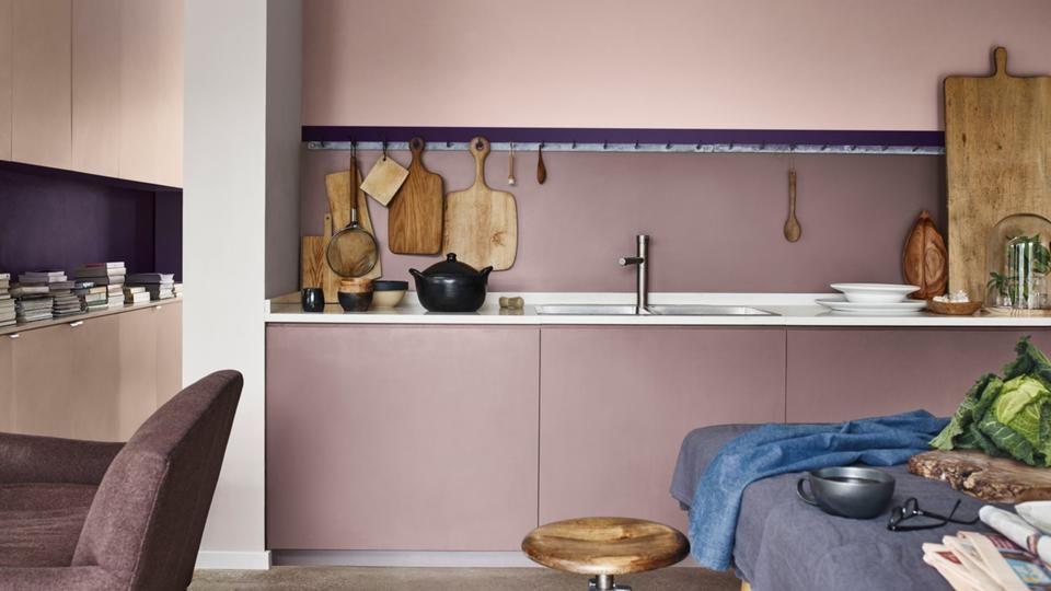 Flexa kleur van het jaar modern keuken inspiratie flexa l