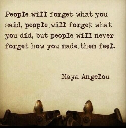 Image result for maya angelou quote about making people feel
