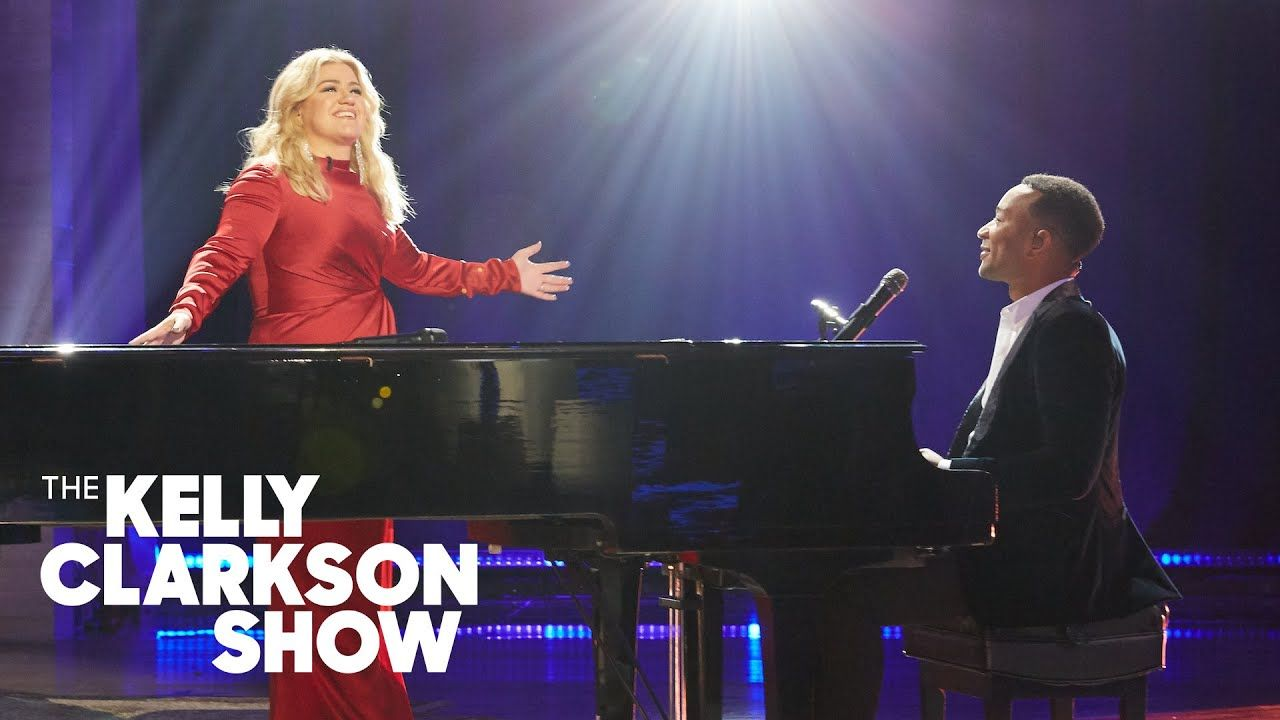 John Legend And Kelly Perform An Updated Duet Of 'Baby, It's Cold Outside' (With images) | John ...