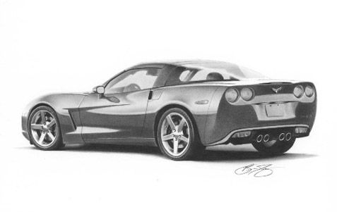 How To Draw A Real Car
