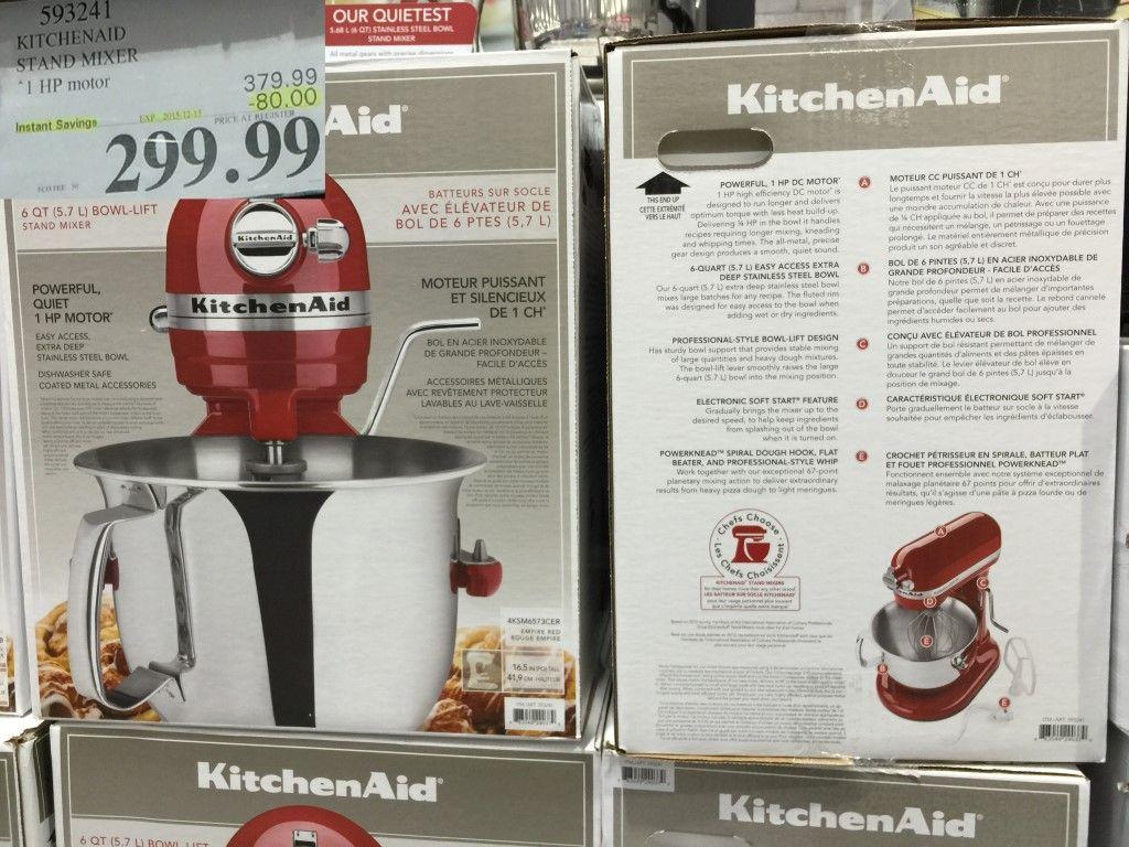 6 Qt Kitchenaid Mixer Costco