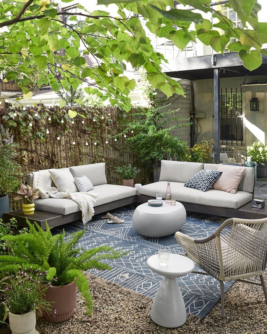 West Elm Furniture Decor On Instagram Picture Yourself Here Pretty Nice Right Now Make It A Reality With In 2020 Backyard Furniture Patio Decor Patio Design