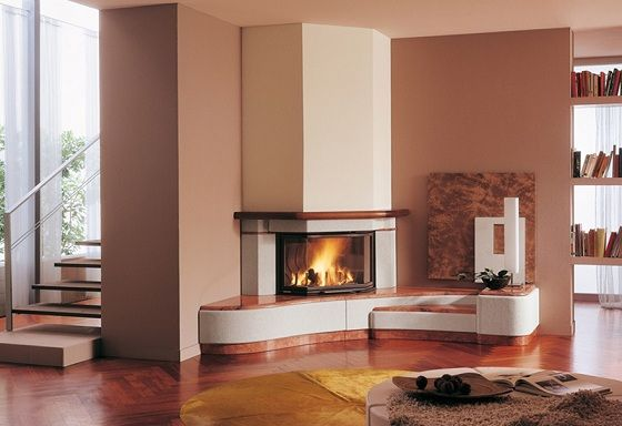 17 best images about fireplace ideas on pinterest modern fireplaces fireplaces and modern corner fireplace - Corner Fireplace Design Ideas
