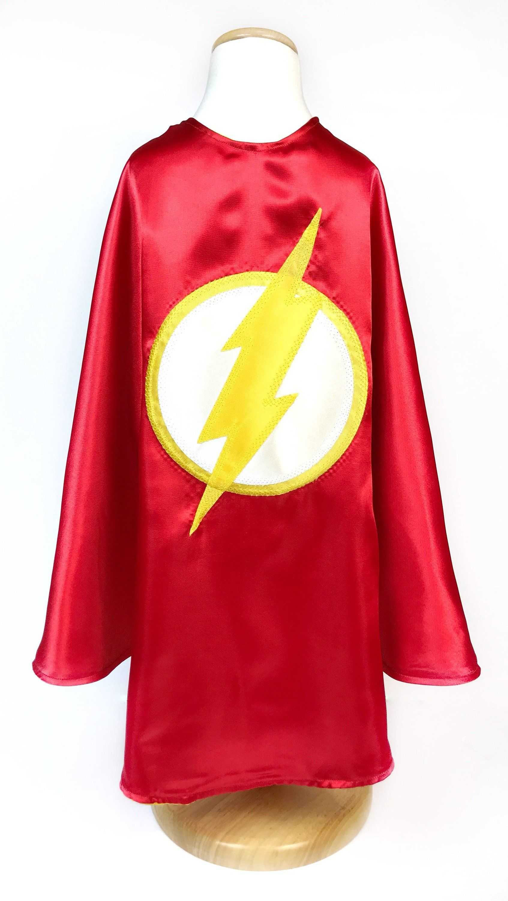 The Flash Mask Costume Tee Shirt Red