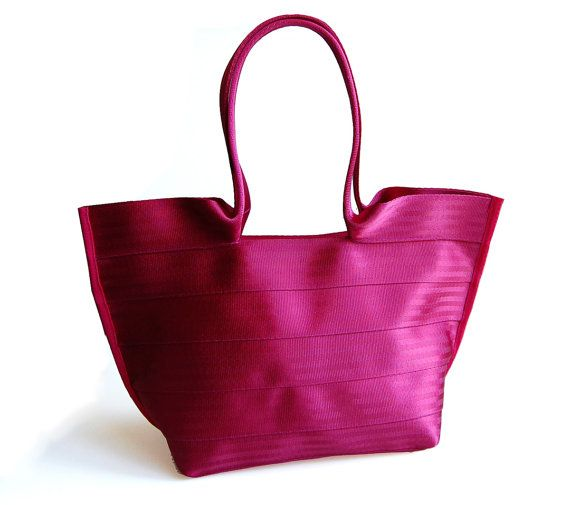 8ab55187eb55 The Tilde Bag in Limited Edition RASPBERRY by interrobang on Etsy