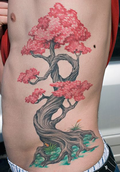 Small Bonsai Tattoo: Just Love This Bonsai-style Tree By Reed Leslie Of