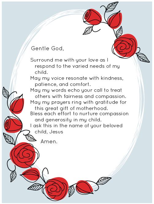 Prayer for single mothers catholic