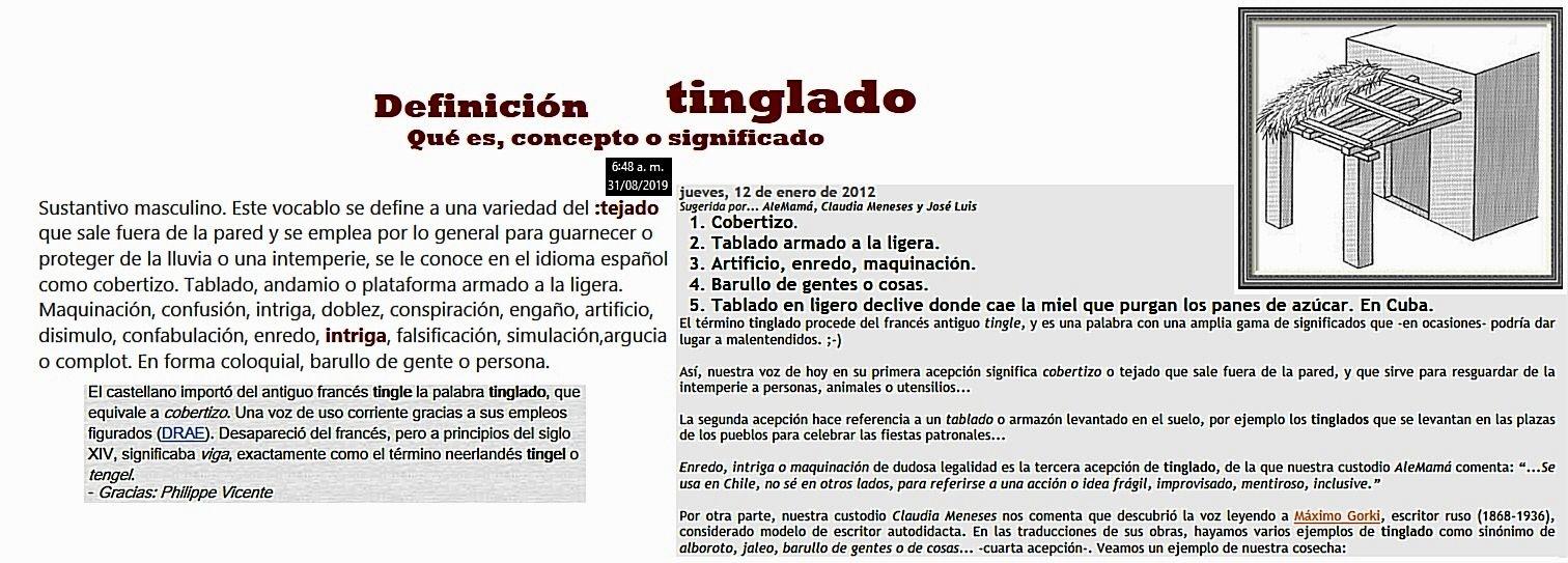 Disepolo Y El Cambalache Tango Tinglados Definiciones