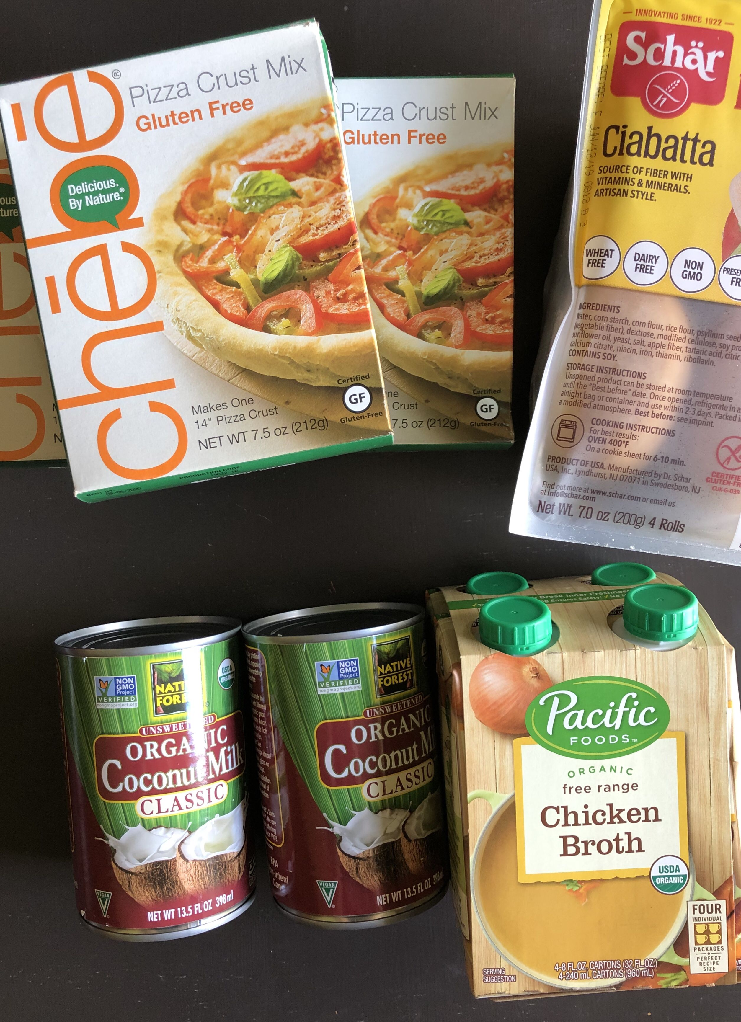 Gluten Free Pantry Staples Healthy food delivery, Gluten