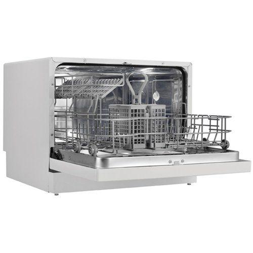 Danby Ddw611wled Countertop Dishwasher White Dishwashers White Kitchen With Images Countertop Dishwasher Portable Dishwasher Countertops