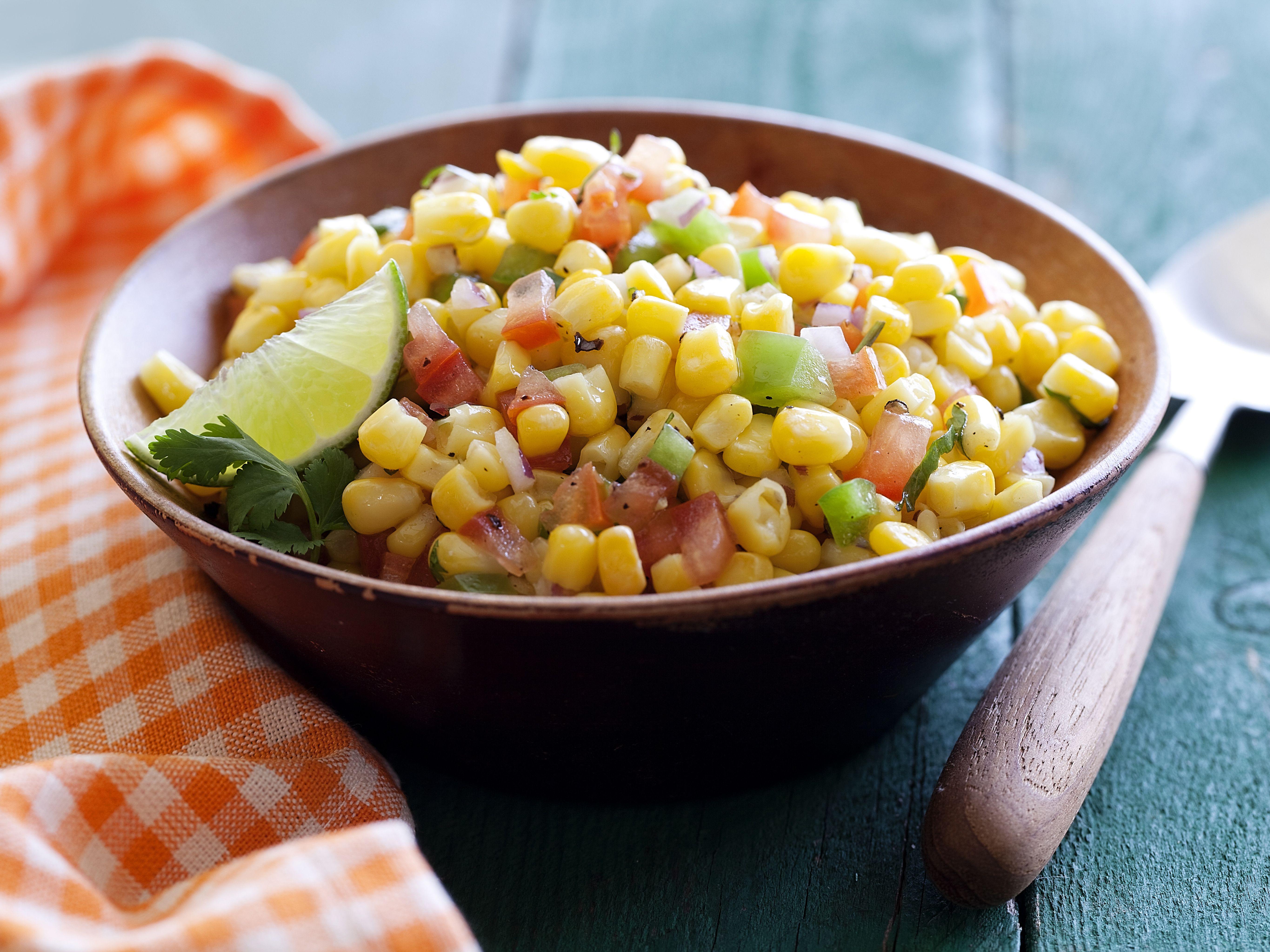 Summer Corn Salad #hominycasserolepioneerwoman