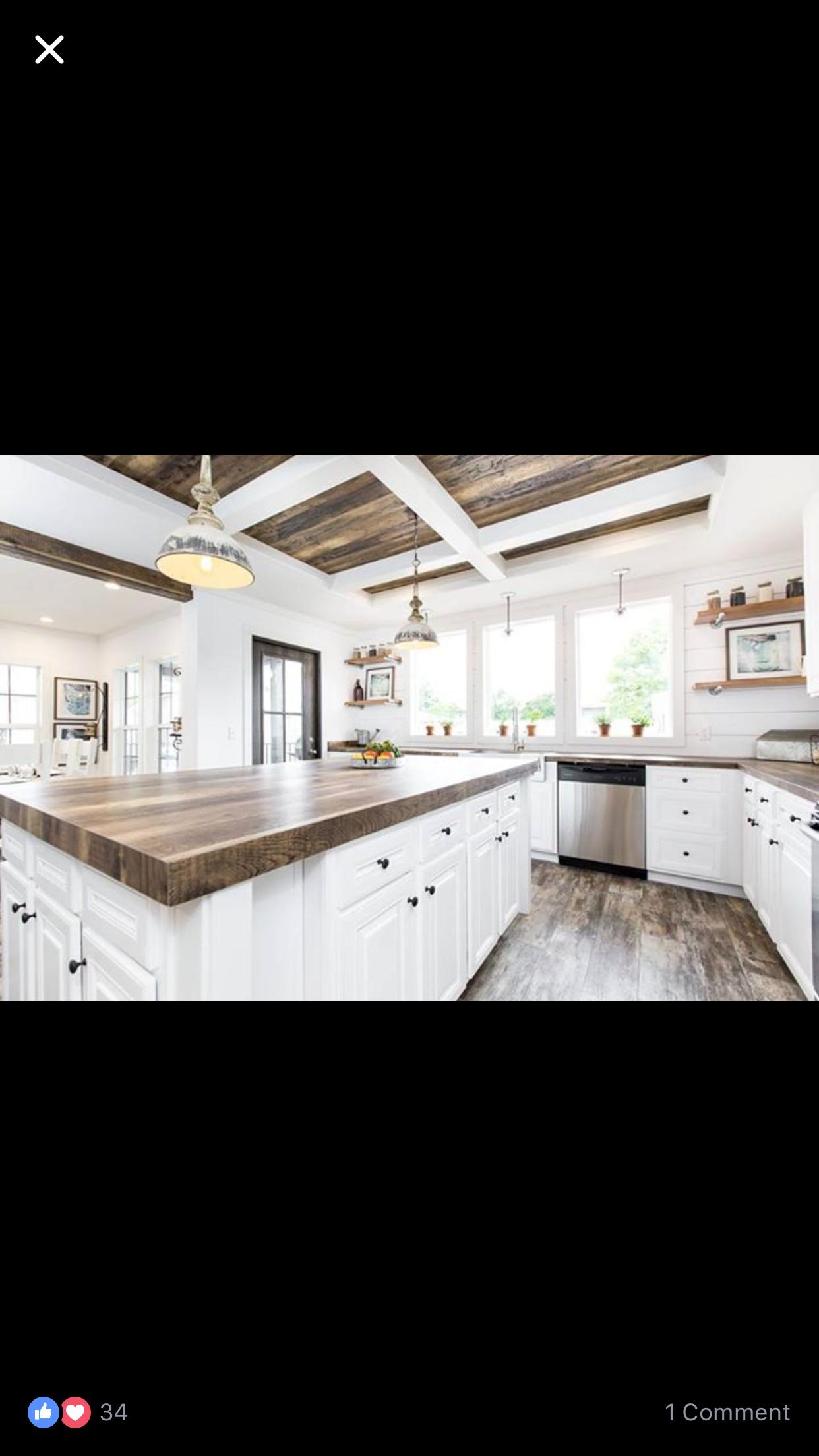 Lulamae mobile home farmhouse kitchen by Buccaneer   Farmhouse ...