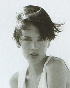 Kylie Bax, on the beach ~1996.
