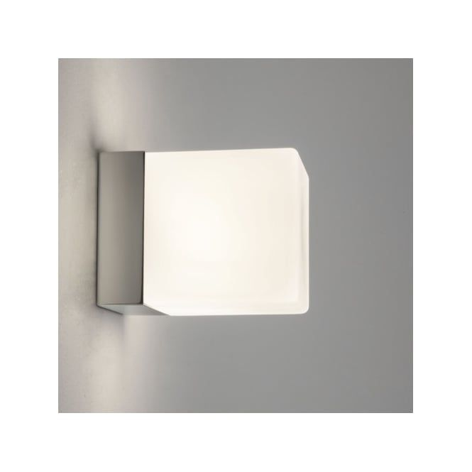 Astro 0635 cube ip44 bathroom wall light in chrome bathroom astro 0635 cube ip44 bathroom wall light in chrome aloadofball Images