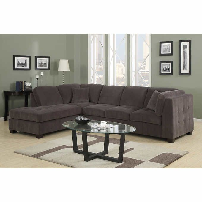 Rylie Fabric Sectional Living Room Set  Home Decor And Magnificent Sectional Living Room Sets Design Inspiration