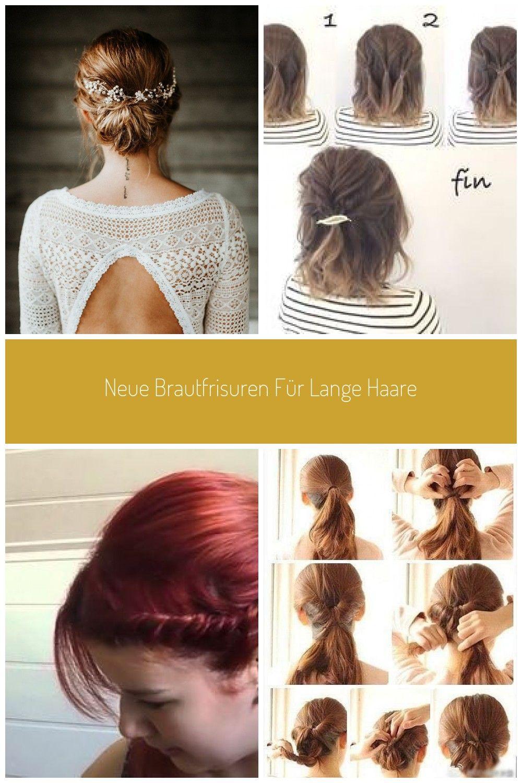 #haar hochstecken Neue Brautfrisuren für lange Haare