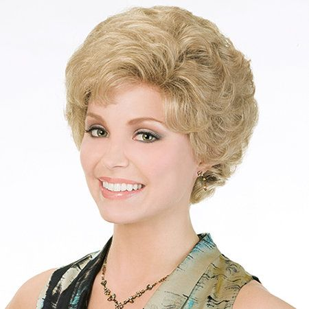 Delite Wig - Easy versatility, brush back into an upsweep or soft waves. Find this style & more @ thewigcompany.com
