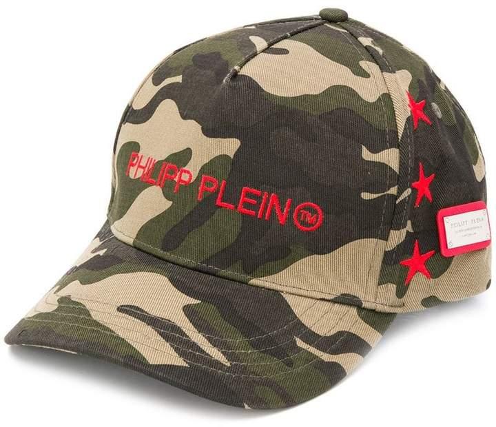 5782603b08f Philipp Plein Camouflage baseball cap in 2019
