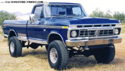 1974 F250 Highboy Truck 1976 Ford F250 4x4 76 F250 4x4 For