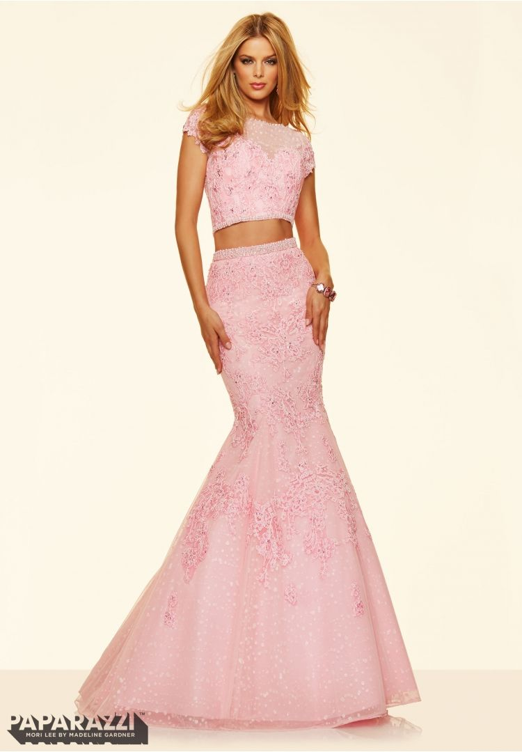 Prom dresses by paparazzi prom piece beaded lace appliques on